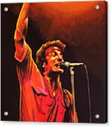 Bruce Springsteen Painting Acrylic Print