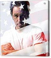 Bruce Springsteen Portrait Acrylic Print