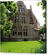 Bruges Building Acrylic Print