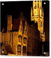 Brugge Architecture Acrylic Print