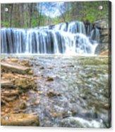 Brush Creek Falls Located In West Virginia Acrylic Print