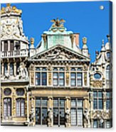 Brussels, Grand Place Acrylic Print