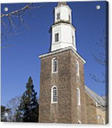 Bruton Parish Church In Colonial Williamsburg Acrylic Print