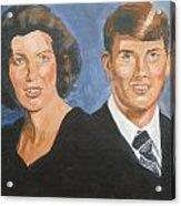 Bryan And Gina Acrylic Print