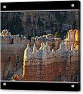Bryce Canyon At Sunrise Acrylic Print