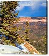 Bryce Canyon Cliff Shot 4 Acrylic Print