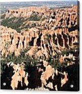 Bryce Canyon Hoodoos And Fins Acrylic Print