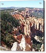 Bryce Canyon Hoodoos Landscape Acrylic Print