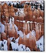 Bryce Canyon In Winter 2 Acrylic Print