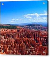 Bryce Canyon Vista Acrylic Print