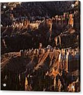 Bryce Canyon National Park Hoodo Monoliths Sunrise Southern Utah Acrylic Print