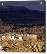 Bryce Canyon National Park Hoodo Monoliths Sunset Southern Utah  Acrylic Print