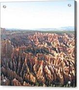 Bryce Canyon Scenic Overlook Acrylic Print