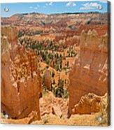 Bryce Canyon Valley Walls Acrylic Print