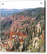 Bryce Canyon View Acrylic Print