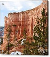 Bryce Curved Formation Wall Acrylic Print