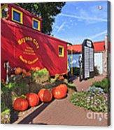 Bryson City North Carolina In The Fall Acrylic Print