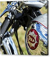 Bsa Rocket Gold Star Motorcycle Acrylic Print