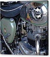 Bsa Motorcycle Acrylic Print