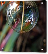 Bubble Cocoon         Acrylic Print by Kaye Menner