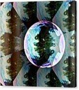 Bubble Illusion Catus 1 No 1 V Acrylic Print