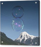 Bubble In The Purcell's Acrylic Print