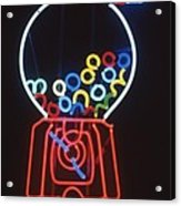 Bubblegum Machine Acrylic Print