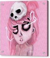 Bubblegum Pink Acrylic Print