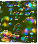 Bubbles Bubbles And More Bubbles Acrylic Print