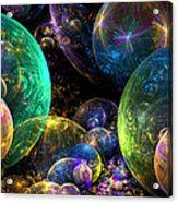 Bubbles Upon Bubbles Acrylic Print