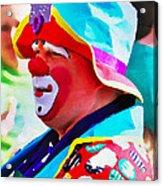 Bubby The Clown Acrylic Print