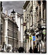 Bucharest The Little Paris Acrylic Print