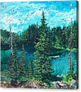 Buck Lake Acrylic Print
