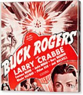 Buck Rogers, Bottom Larry Crabbe Acrylic Print
