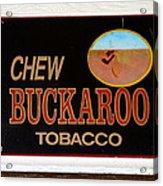 Buckaroo  Acrylic Print