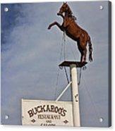 Buckaroo's Saloon Acrylic Print