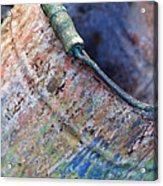 Bucket Of Colors Acrylic Print