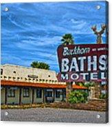 Buckhorn Baths Motel Acrylic Print
