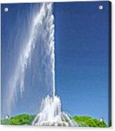 Buckingham Fountain Spray Acrylic Print