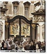 Buckingham Palace Gates Acrylic Print
