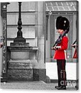 Buckingham Palace Guards Acrylic Print