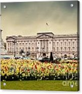 Buckingham Palace In London Uk Acrylic Print