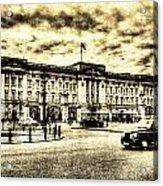 Buckingham Palace Vintage Acrylic Print