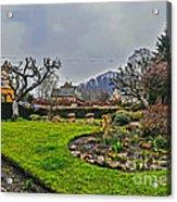 Buckland Garden Acrylic Print