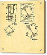 Bucky Einstein Auto Exposure Camera Patent Art 1936 Acrylic Print