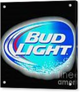 Bud Light Splash Acrylic Print