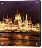 Buda Parliament  Acrylic Print