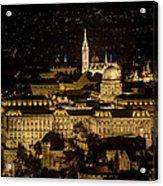 Budapest Castle Acrylic Print