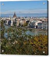 Budapest City Acrylic Print