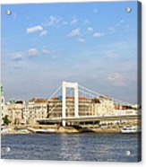 Budapest Skyline Acrylic Print